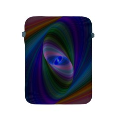 Ellipse Fractal Computer Generated Apple Ipad 2/3/4 Protective Soft Cases