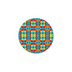 Pop Art Abstract Design Pattern Golf Ball Marker (4 Pack) by Amaryn4rt