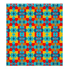Pop Art Abstract Design Pattern Shower Curtain 66  X 72  (large)  by Amaryn4rt