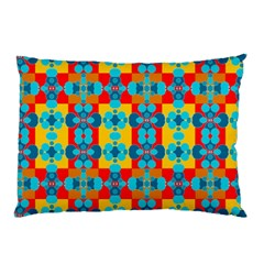 Pop Art Abstract Design Pattern Pillow Case (two Sides) by Amaryn4rt