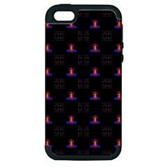 Chakras Apple Iphone 5 Hardshell Case (pc+silicone)