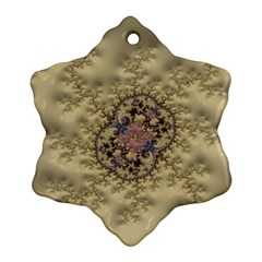 Fractal Art Colorful Pattern Ornament (snowflake)