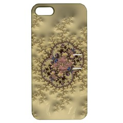 Fractal Art Colorful Pattern Apple Iphone 5 Hardshell Case With Stand by Amaryn4rt
