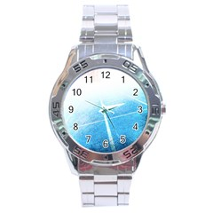 Court Sport Blue Red White Stainless Steel Analogue Watch by Amaryn4rt