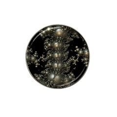Fractal Math Geometry Backdrop Hat Clip Ball Marker (4 Pack) by Amaryn4rt