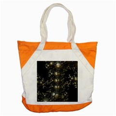 Fractal Math Geometry Backdrop Accent Tote Bag