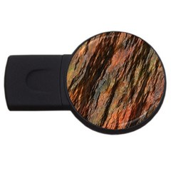 Texture Stone Rock Earth Usb Flash Drive Round (2 Gb) by Amaryn4rt