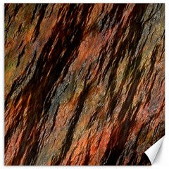 Texture Stone Rock Earth Canvas 16  X 16   by Amaryn4rt