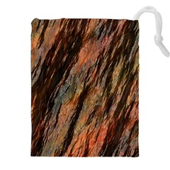 Texture Stone Rock Earth Drawstring Pouches (xxl) by Amaryn4rt