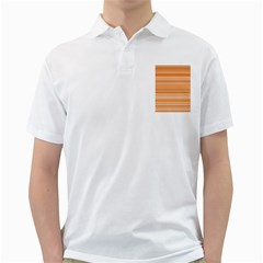 Line Brown Golf Shirts