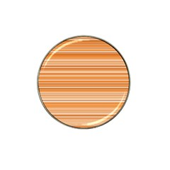 Line Brown Hat Clip Ball Marker (4 Pack) by Alisyart