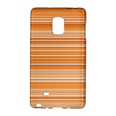 Line Brown Galaxy Note Edge by Alisyart