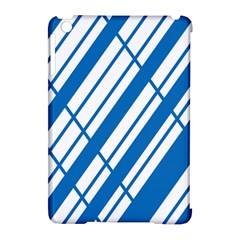 Line Blue Chevron Apple iPad Mini Hardshell Case (Compatible with Smart Cover) by Alisyart