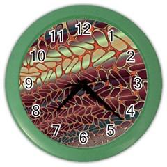 Line Dancing Gpld Net Color Wall Clocks by Alisyart