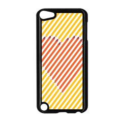 Little Valentine Pink Yellow Apple Ipod Touch 5 Case (black) by Alisyart