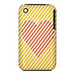 Little Valentine Pink Yellow iPhone 3S/3GS