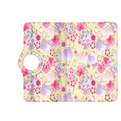 Flower Arrangements Season Floral Pink Purple Star Rose Kindle Fire Hdx 8 9  Flip 360 Case by Alisyart
