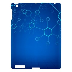 Molecules Classic Medicine Medical Terms Comprehensive Study Medical Blue Apple Ipad 3/4 Hardshell Case by Alisyart
