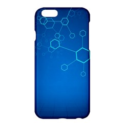 Molecules Classic Medicine Medical Terms Comprehensive Study Medical Blue Apple Iphone 6 Plus/6s Plus Hardshell Case by Alisyart