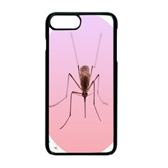 Mosquito Pink Insect Blood Apple iPhone 7 Plus Seamless Case (Black) by Alisyart