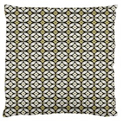 Flower Floral Chevrpn Wave Sunflower Rose Grey Yellow Standard Flano Cushion Case (One Side) by Alisyart