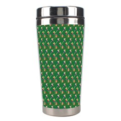Candy Green Sugar Stainless Steel Travel Tumblers by Alisyart