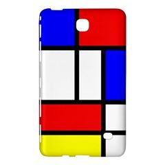 Mondrian Red Blue Yellow Samsung Galaxy Tab 4 (7 ) Hardshell Case  by Amaryn4rt