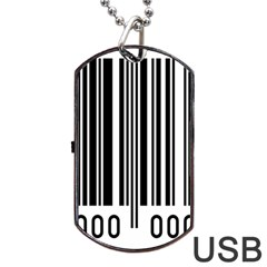 Code Data Digital Register Dog Tag Usb Flash (two Sides) by Amaryn4rt