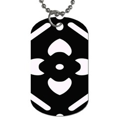 Pattern Background Dog Tag (one Side) by Amaryn4rt