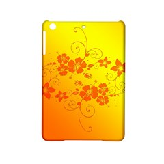 Flowers Floral Design Flora Yellow Ipad Mini 2 Hardshell Cases by Amaryn4rt