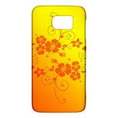 Flowers Floral Design Flora Yellow Galaxy S6 by Amaryn4rt