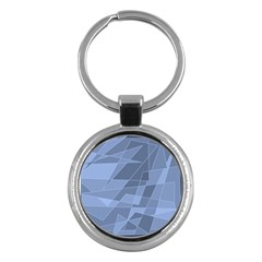 Lines Shapes Pattern Web Creative Key Chains (round)  by Amaryn4rt