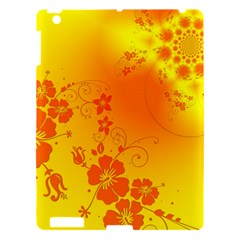 Flowers Floral Design Flora Yellow Apple Ipad 3/4 Hardshell Case