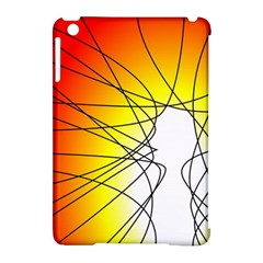Spirituality Man Origin Lines Apple Ipad Mini Hardshell Case (compatible With Smart Cover) by Amaryn4rt