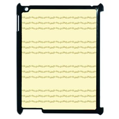 Background Pattern Lines Apple Ipad 2 Case (black)