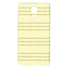Background Pattern Lines Galaxy Note 4 Back Case by Amaryn4rt