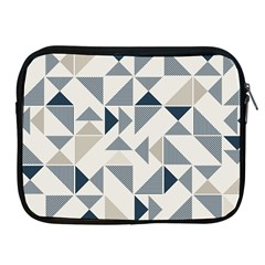 Geometric Triangle Modern Mosaic Apple Ipad 2/3/4 Zipper Cases by Amaryn4rt