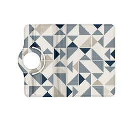 Geometric Triangle Modern Mosaic Kindle Fire Hd (2013) Flip 360 Case by Amaryn4rt