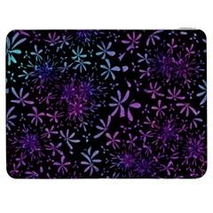 Retro Flower Pattern Design Batik Samsung Galaxy Tab 7  P1000 Flip Case by Amaryn4rt