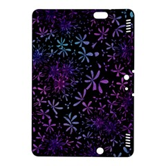 Retro Flower Pattern Design Batik Kindle Fire Hdx 8 9  Hardshell Case by Amaryn4rt