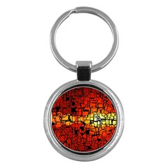 Board Conductors Circuits Key Chains (round)  by Amaryn4rt