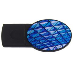 Lines Geometry Architecture Texture USB Flash Drive Oval (2 GB)