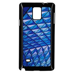 Lines Geometry Architecture Texture Samsung Galaxy Note 4 Case (black) by Amaryn4rt