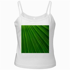 Green Lines Macro Pattern Ladies Camisoles by Amaryn4rt
