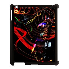 Night View Night Chaos Line City Apple Ipad 3/4 Case (black)