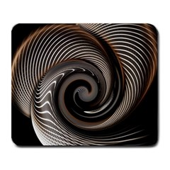Abstract Background Curves Large Mousepads by Amaryn4rt