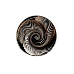 Abstract Background Curves Hat Clip Ball Marker (10 Pack) by Amaryn4rt