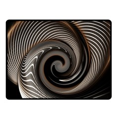 Abstract Background Curves Fleece Blanket (small) by Amaryn4rt