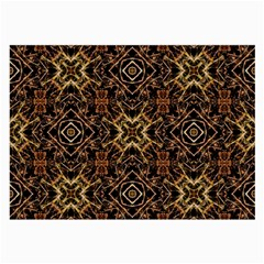 Tribal Geometric Print Large Glasses Cloth (2 Side) by dflcprints