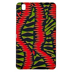 African Fabric Red Green Samsung Galaxy Tab Pro 8 4 Hardshell Case by Alisyart
